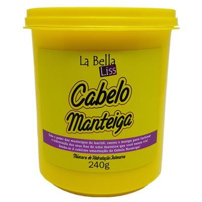 La Bella Liss Cabelo Manteiga Máscara de Hidratação - 240g