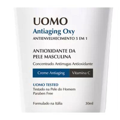 Imagem 2 do produto Uomo Antiaging Oxy Ada Tina - Rejuvenescedor Facial - 30ml