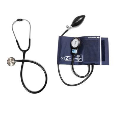 Imagem 5 do produto Aparelho de Pressão com Estetoscópio Master Standard Inox Azul CJ0839 Bic