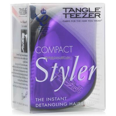 Imagem 4 do produto Compact Style Tangle Teezer - Escova para os Cabelos - Purple Dazzle