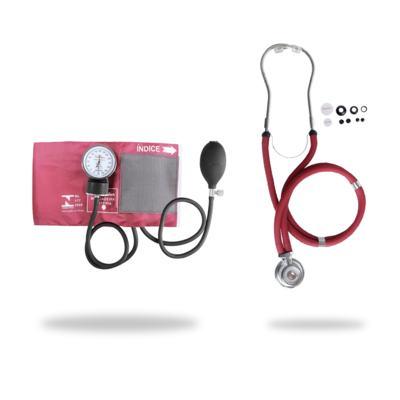Imagem 3 do produto Kit Esteto Rappaport com Aparelho de Pressão Vinho Premium