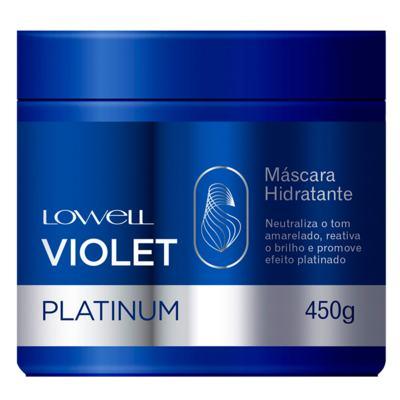 Lowell Violet Platinum - Máscara Matizadora - 450g