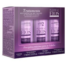 Cadiveu Tratamento Antifrizz Plástica dos Fios Kit - Shampoo + Antifrizz + Máscara - Kit