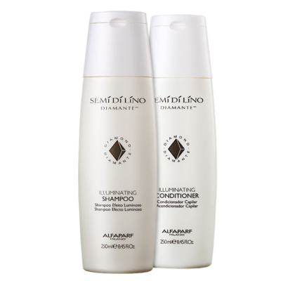 Kit Shampoo + Condicionador Alfaparf Illuminating - Kit