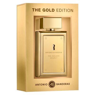 Imagem 1 do produto The Golden Secret Edição Limitada Antonio Banderas Perfume Masculino Eau de Toilette - 100ml