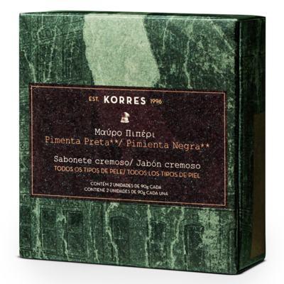 Imagem 1 do produto Korres Pimenta Preta Kit - Sabonetes - Kit