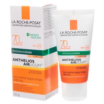 Imagem 4 do produto Anthelios Airlicium com Cor FPS 70 La Roche-Posay - Protetor Solar - Universal
