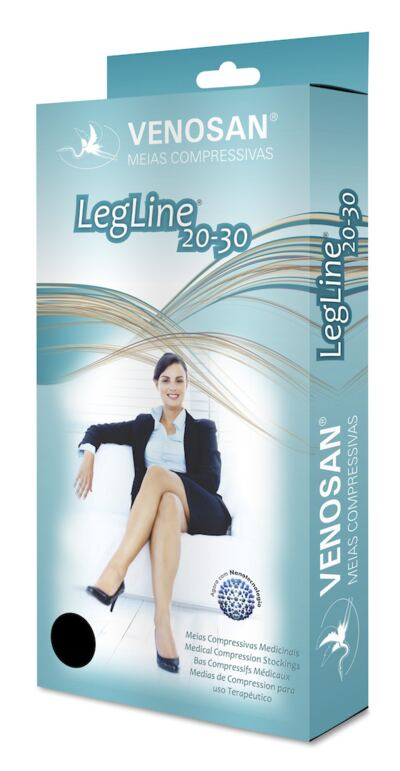 Imagem 3 do produto Meia Coxa AGH 20-30 Legline Venosan - PONTEIRA ABERTA OLINDA XG