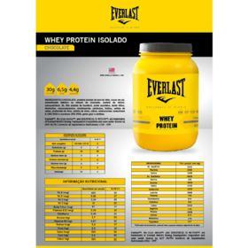 Whey Protein Isolado 900g - Everlast - Whey Protein Isolado 900g - Everlast - Chocolate