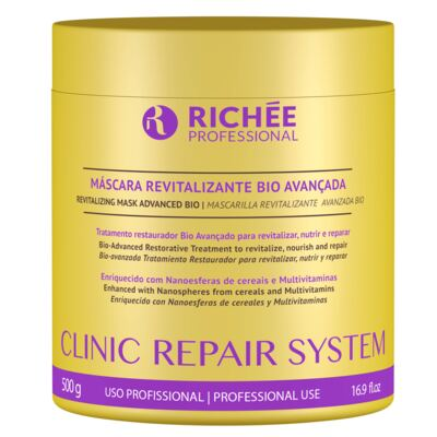 Richée Professional Clinic Repair System - Máscara Revitalizante - 500g