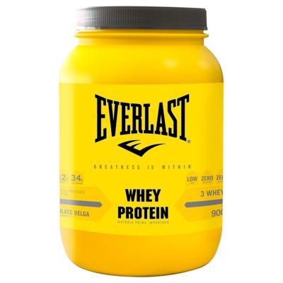 Whey Protein 3W 900g - Everlast - Whey Protein 3W 900g - Everlast - Chocolate Belga