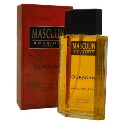 Imagem 1 do produto Masculin Ouragan Bourjois - Perfume Masculino - Eau de Toilette - 100ml