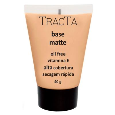 Imagem 1 do produto Base Facial Matte Tracta Alta Cobertura - 02C