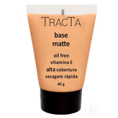 Imagem 1 do produto Base Facial Matte Tracta Alta Cobertura - 04C