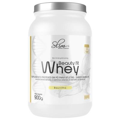 BEAUTY FIT WHEY  PROTEIN 900GR - SLIM BAUNILHA -