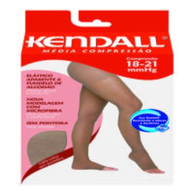Meia Calça 18-21 mmHg Média Kendall - MEL PONTEIRA ABERTA G
