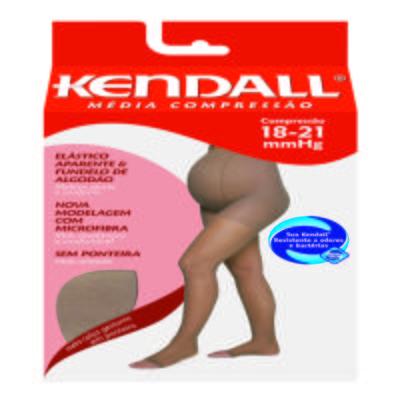Imagem 1 do produto Meia Calça para Gestante 18-21 mmHg Média Kendall - MEL PONTEIRA ABERTA M