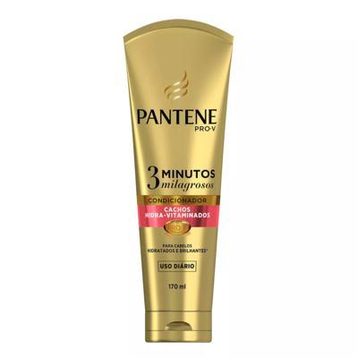Imagem 1 do produto Condicionador Pantene 3 Minutos Milagrosos Cachos Hidra-Vitaminados 170ml