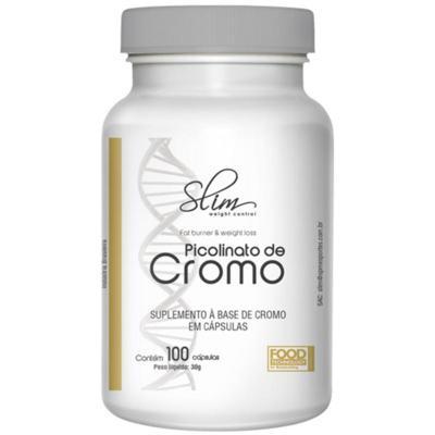 Imagem 1 do produto PICOLINATO DE CROMO 100CAPS - SLIM -