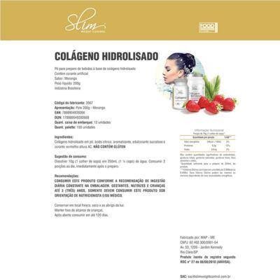 Imagem 2 do produto COLÁGENO HIDROLISADO 200G - SLIM - MORANGO -