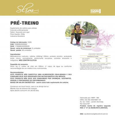 Imagem 2 do produto Kit Slim Gainers Weight Chocolate 3kg + 01 Pré Treino 250g + 01 Creatina Pura 100g - Slim -