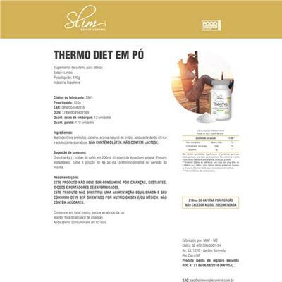 Imagem 2 do produto Combo Slim Óleo de Coco 100 caps + 01 Body Reductor 30 softgel + 01 Thermo em pó diet 120 g - Slim. -