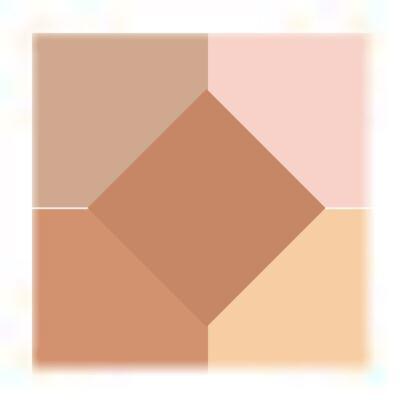 Imagem 2 do produto Highlighting Palette Revlon - Blush/Sombra - 010 - Peach Glow-Matte