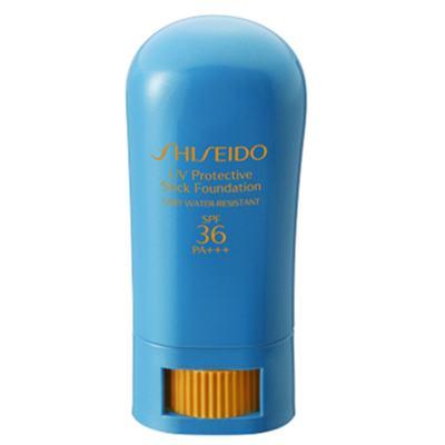 UV Protective Stick Fundation FPS36 Shiseido - Base - 01-Fair Ivory