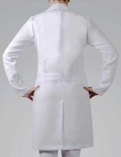 Imagem 4 do produto JALECO FEMININO MANGA LONGA OXFORD - G