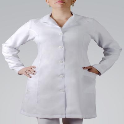 Imagem 2 do produto JALECO FEMININO MANGA LONGA OXFORD - M