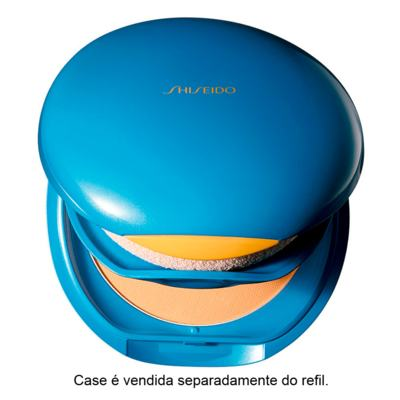 Refil - UV Protective Compact Foundation FPS35 Shiseido - Base Facial - Fair Ivory