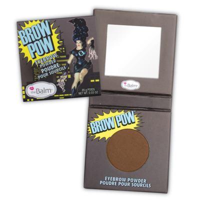 Brow Pow Eyebrow Powder The Balm - Sombra Corretora de Sobrancelhas - Light Brown
