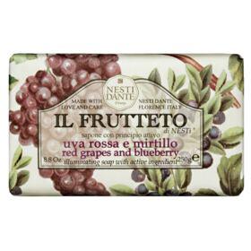 Il Frutteto Uvas Vermelhas com Mirtilo Nesti Dante - Sabonete Frutal em Barra - 250g
