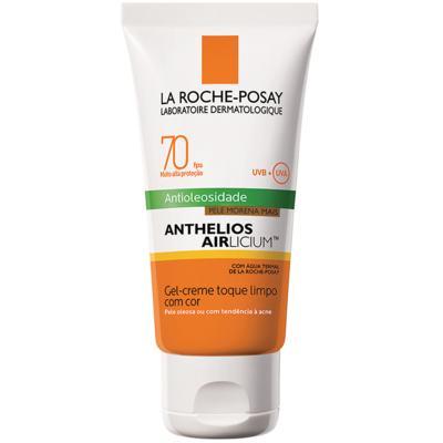 Imagem 3 do produto Protetor Solar Facial com Cor La Roche-Posay - Anthelios Airlicium Fps70 - Morena