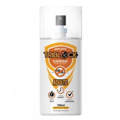 Imagem 1 do produto Repelente Triblock Adulto Spray 100ml