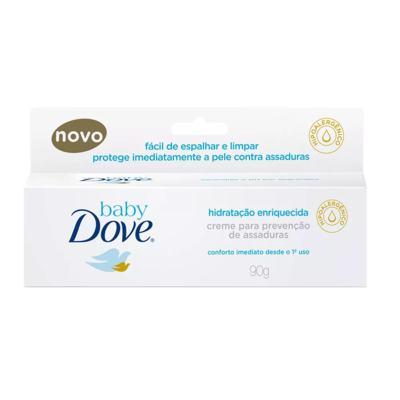 Imagem 1 do produto Creme Contra Assaduras Dove Baby Hidratação Enriquecida 90g