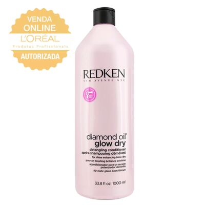 Redken Diamond Oil Glow Dry - Condicionador - 1L