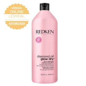Redken Diamond Oil Glow Dry - Shampoo - 1L