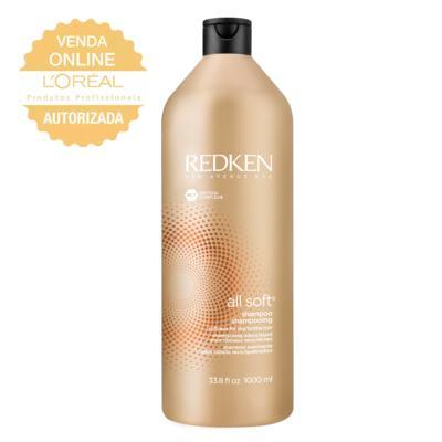 Redken All Soft - Shampoo Hidratante - 1L