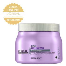 L'Oréal Professionnel Liss Unlimited - Máscara de Nutrição - 500ml