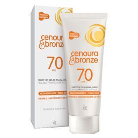 Protetor Solar Facial Diário Cenoura & Bronze - FPS70 - 50g