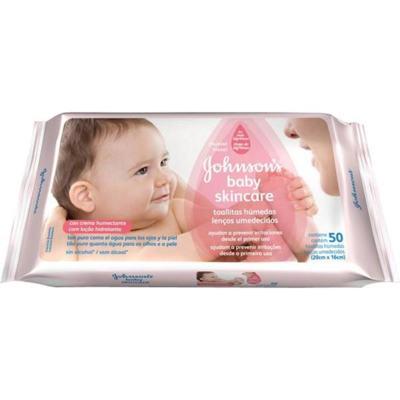 Imagem 2 do produto Toalhas Umedecidas Johnsons Baby Extra Cuidado 48 Unidades -