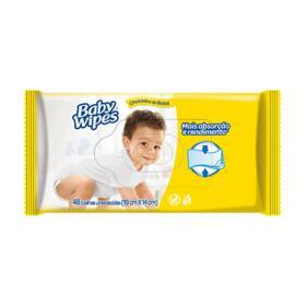 Lenço Umedecido Huggies Baby - Wipes | 48 unidades