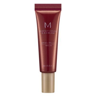 M Perfect Cover BB Cream 10ml Missha - Base Facial - 23 - Natural Beige