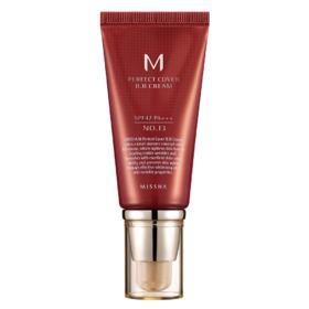 M Perfect Cover BB Cream 50ml Missha - Base Facial - 13 - Milk Beige
