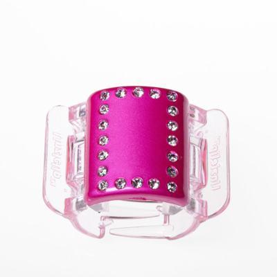 Prendedor de Cabelos Linziclip Pearlised Diamante - Hot Pink