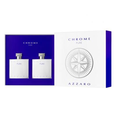 Imagem 1 do produto Azzaro Chrome Pure Kit - Perfume + Pós-Barba - Kit