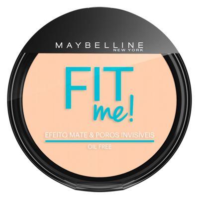 Imagem 1 do produto Fit Me! Maybelline - Pó Compacto para Peles Clara - 100 - Claro Sutil