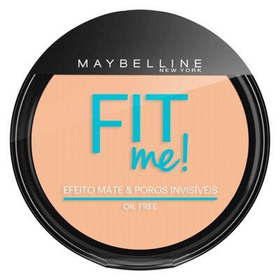 Imagem 1 do produto Fit Me! Maybelline - Pó Compacto para Peles Clara - 110 - Claro Real