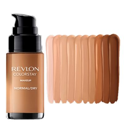 Imagem 4 do produto Colorstay Pump Normal Dry Skin Revlon - Base Líquida - 180 Sand Beige